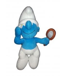 Doudou peluche SCHTROUMPF Coquet Miroir The Smurfs Peyo 30 cm
