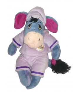 Peluche doudou Bourriquet Pyjama mauve 32 cm Disney Nicotoy 587/9852