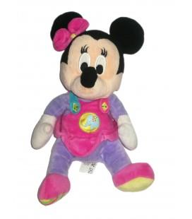 Peluche doudou Minnie robe Elephant 26 cm Disney Nicotoy 587/9760