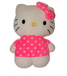Doudou Hello Kitty Rose Fluo 16 cm H&M