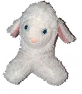 Ancienne peluche Vintage Mouton Agneau blanc 22 cm Bettella