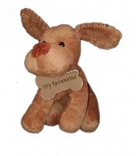 Doudou chien marron My favorite 16 cm Maxita