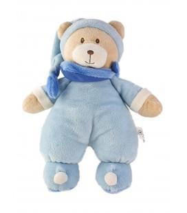 Doudou Peluche Ours bleu 32 cmTEX Baby Carrefour
