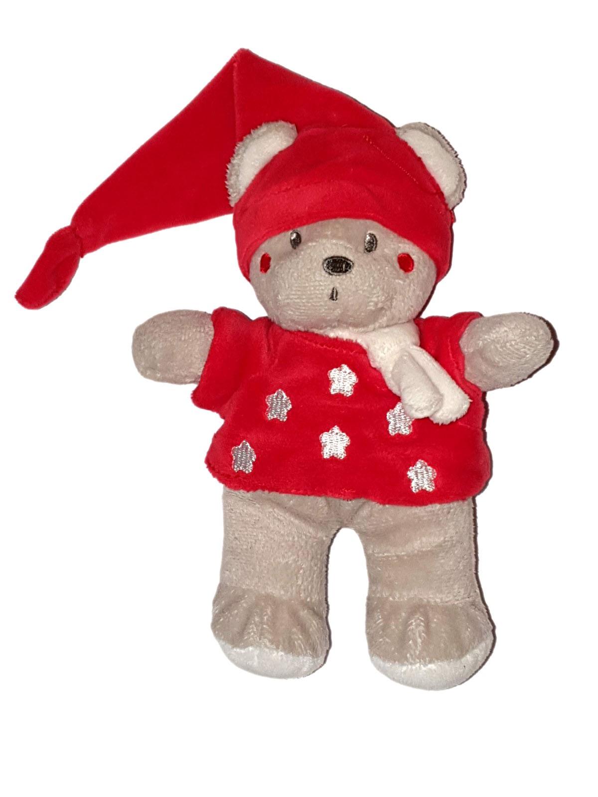 peluche marie disney noel 2010 bonnet rouge