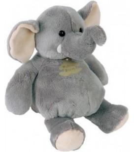 Doudou peluche ELEPHaNT gris Histoire d'Ours Modèle 26 cm
