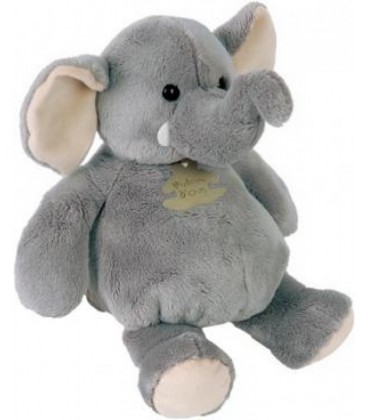 Doudou peluche Elephant gris Histoire d Ours Modele 26 cm