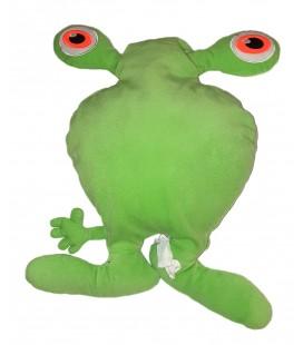 Doudou peluche Coussin Vert Alien Martien Extraterrestre Blimp Figur - IKEA 40 cm