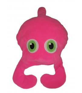 Doudou peluche Coussin Rose Alien Pieuvre Calamar Martien Extraterrestre Blimp Figur - IKEA 50 cm