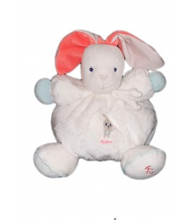 Peluche Doudou Ours Kaloo Collection Imagine Grelot 26 cm Grand modele Patapouf