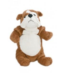 IKEA - Doudou peluche chien Gosig Bulldog marron blanc 40 cm