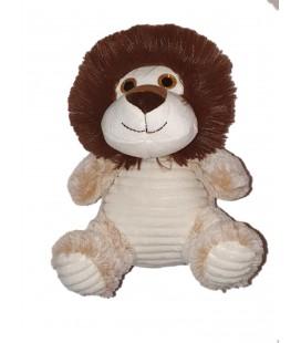 Peluche Lion beige marron Max & Sax 22 cm