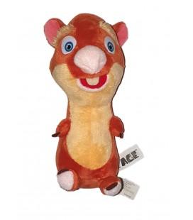 Doudou peluche Hamster Hyrax Age de Glace 22 cm 2013 TCC