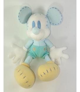 Peluche Doudou Mickey bleu ciel clair 35 cm Exclusive Walt Disney Company