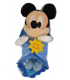 Peluche doudou Mickey Couverture Soleil Disney Babies Disney Parks 30 cm