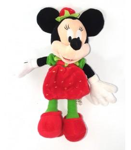 Peluche doudou Minnie Fraise Disney Disneyland Paris 28 cm