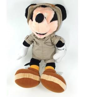 Doudou peluche Mickey Aventurier Safari 36 cm Disney