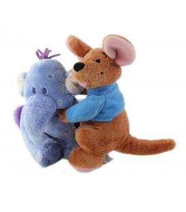 Peluche doudou Duo Lumpy Roo 16 cm Disney Nicotoy Winnie L ourson