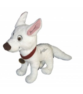 Doudou peluche VOLT Chien Authentique Disneyland Paris 30 cm + queue