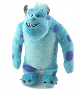 Peluche sully Monstres et compagnie Disney Pixar Spin Master 28 cm
