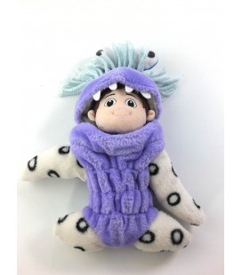 Peluche doudou Fermeture Monster Inc Boo 25 cm Disney