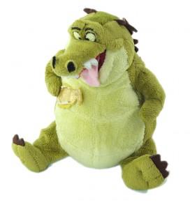 Peluche doudou Crocodile vert Disney Store la Princesse et la Grenouille 18 cm