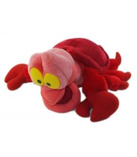 Peluche doudou Crabe Sebastien rouge DisneyThe Little Marmaid 30 cm