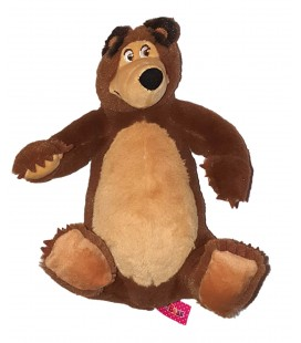 Peluche doudou Ours marron 24 cm Masha and The Bear Simba Toys