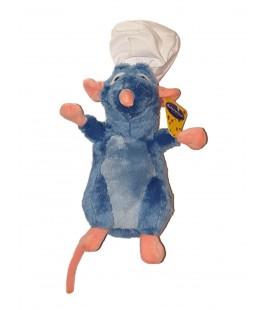 Peluche doudou Ratatouille Chef cuisinier Toque 32 cm Disney Famosa