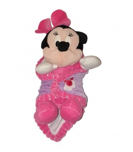Peluche doudou Minnie Couverture PTS SRL 30 cm Disney