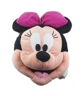 Peluche coussin Tete Minnie 40 cm