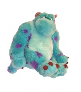Peluche sully Monstres et compagnie Disney Store assis 30 cm
