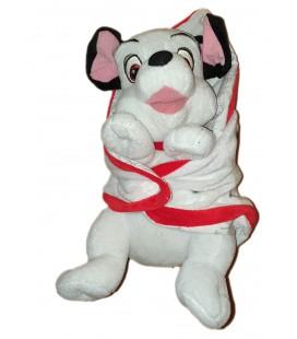Doudou peluche chien 101 Dalmatiens Couverture Nicotoy PTS SRL 30 cm