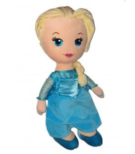 Grande Peluche doudou XXL Poupee Elsa Reine des Neiges 55 cm Disney Nicotoy