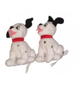 LOT DE 2 - Doudou Dalmatien 16 cm Disney Nicotoy