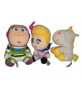 Lot de 3 Peluches Doudou Bouton d Or Buzz BO Toys Story 18 cm