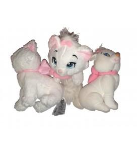 Peluche doudou chat blanc Marie Les Aristochats 18 cm Disney Nicotoy