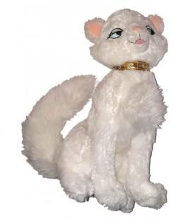 Peluche doudou chat blanc Duchesse Les Aristochats 18 cm Disney Disenyland Paris 35 cm