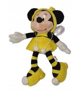 Peluche doudou Minnie deguisee en abeille 30 cm Disney Disneyland