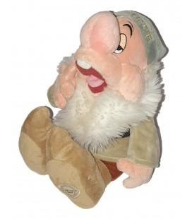 Doudou peluche Dormeur Blanche Neige et les 7 nains 40 cm Disney Store