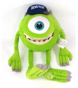 Peluche Mike Cyclope Oeil vert Monstres et Compagnie Monster et Cie Disney Disneyland 35 cm