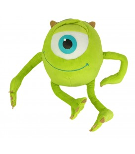 Peluche Bob Cyclope Oeil vert Monstres et Compagnie Monster et Cie Play By Play 30 cm