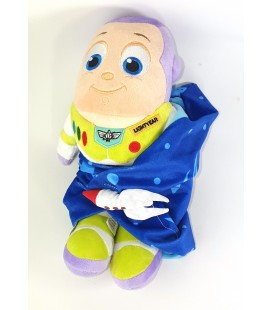 Doudou peluche Buzz l Eclair Bebe Couverture 30 cm Disney Disneyland Paris