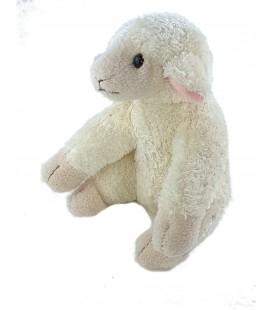 Peluche Doudou Mouton blanc 16 cm LES PETITES MARIE
