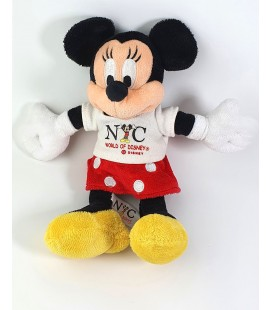 Peluche doudou Minnie NYC World of Disney 24 cm