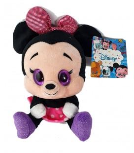 Peluche Doudou Minnie Paillettes 18 cm Disney Nicotoy 587/4990