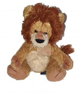 Doudou peluche Lion beige marron 28 cm Trudi Bussi