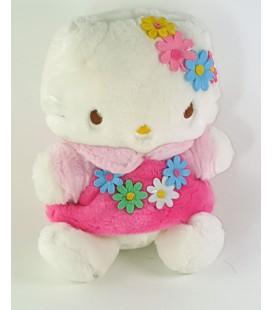 Peluche doudou Hello Kitty Fleurs 22 cm Sanrio
