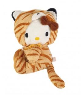 Peluche doudou Hello Kitty Deguise en Tigre 18 cm Augusta du Bay Sanrio