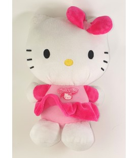 Peluche doudou HELLO KITTY sac robe rose Sanrio 22 cm 2013 Jemini LAN007071336