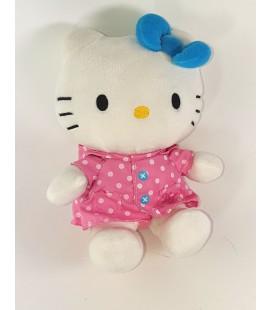 Peluche doudou Hello Kitty Manteau rose Capuche 20 cm Sanrio 2012 Jemini TAU003871205